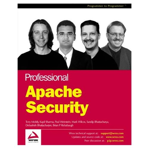 Book CoverProfessional Apache Security