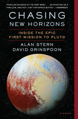 Book cover of Chasing New Horizons by Alan Stern